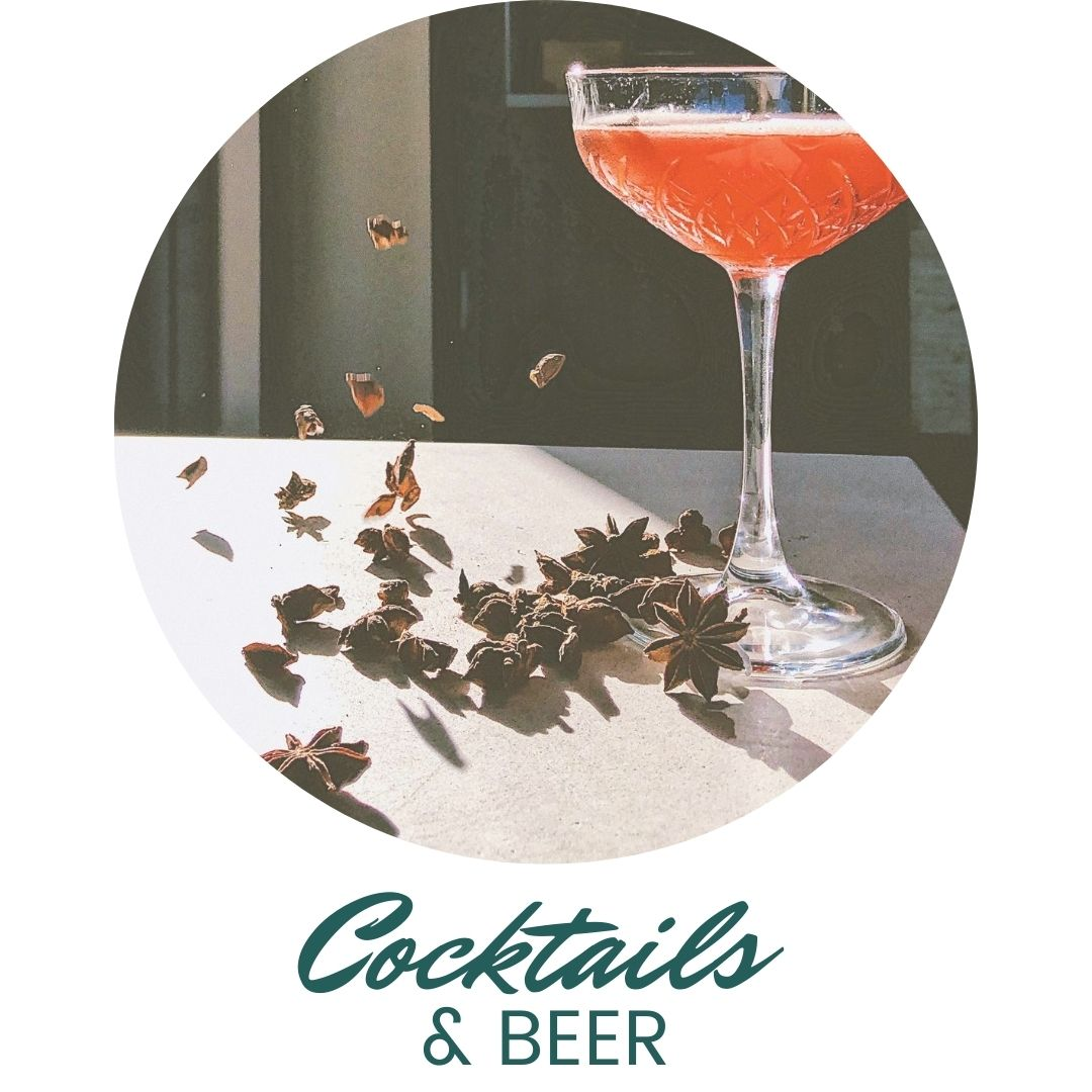 Cocktails and Beer at The Second Glass