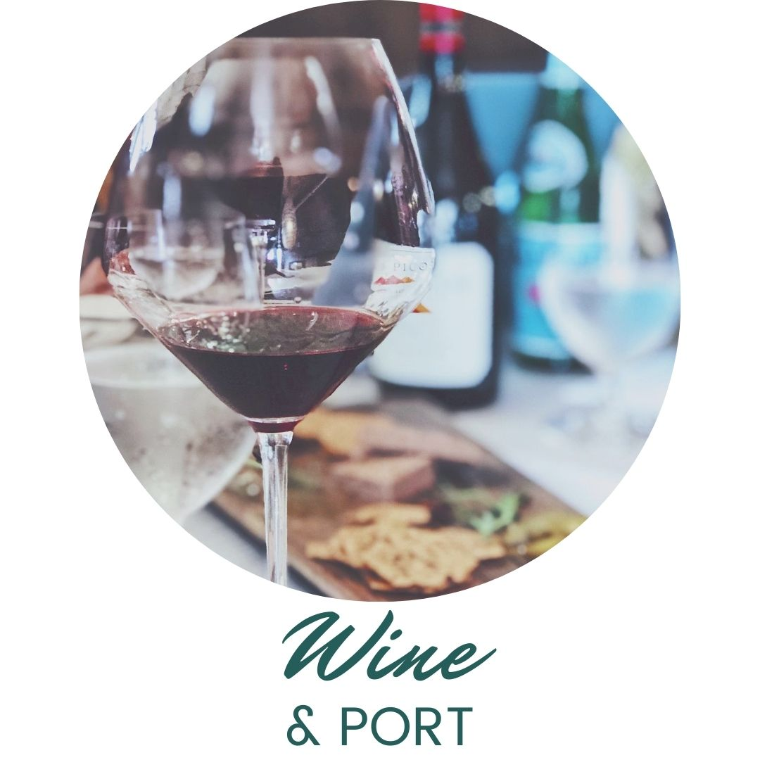 Wine and Port at The Second Glass